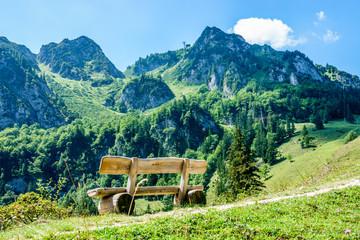 hochfelln mountain Fototapete