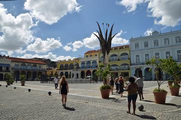 Plaza in Havana Cuba