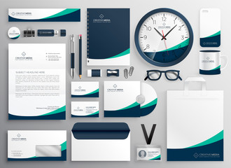 clean business stationery for your brand
