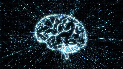 Digital brain in explosion of computer data