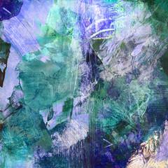 malerei blau grün texturen