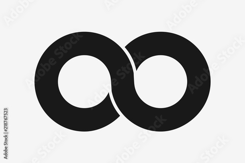 482171913c759 Infinity symbol icon vector illustration. Flat design infinity sign for web  graphic or future concept