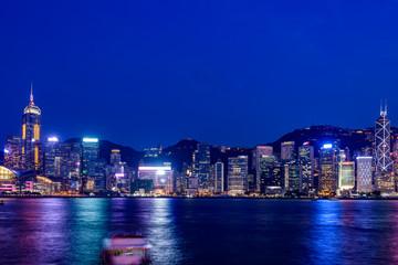 Hong Kong Nigh scape