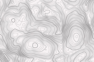 Vector contour topographic map background. Topography and geography map grid abstract backdrop. Business concept. Vector illustration