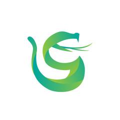 vector snake logo