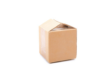 Closed cubic packing box