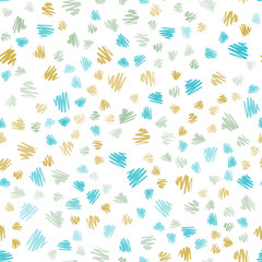 Light Blue, Yellow vector seamless template with repeated sticks.