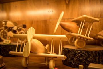 Wooden Airplane set