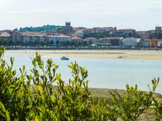San Vicente de la Barquera. Pueblo de Cantabria, España