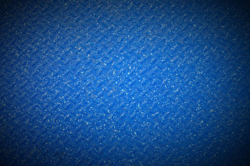 Blue metal floor plate texture background for add text or graphic design