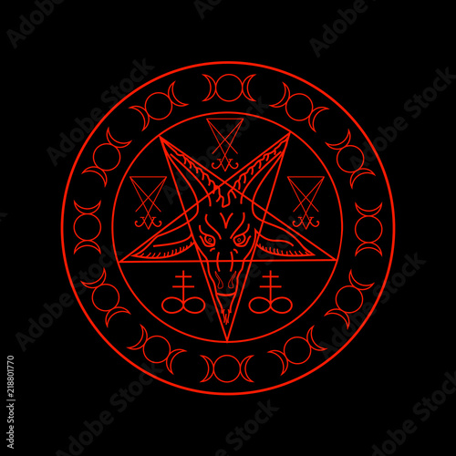 Wiccan symbols- Cross of Sulfur, Triple Goddess, Sigil of