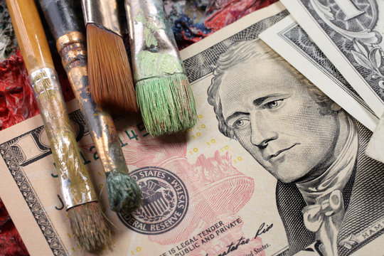 the price of contemporary art market