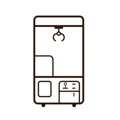 Claw Machine outline icon