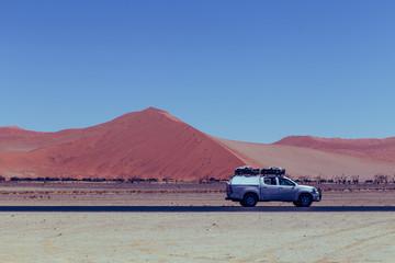 Papiers peints Grenat Safari dunes de sable Namibie