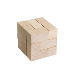 Würfel, Puzzle, Symbol, freigestellt
