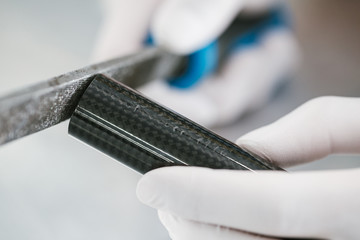 Grinding and shaping  Carbon fiber composite material