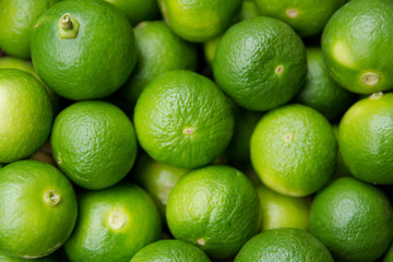 Lime Citrus Fruits background. Fresh juicy limes. Healthy food