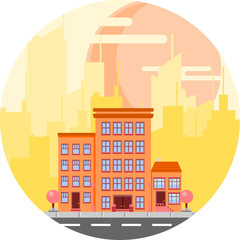 City Siluette serie