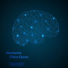 Human brain background
