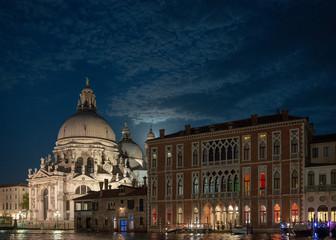 Venice views 2011, moonlight, tidal
