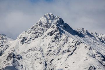 New Zealand mountain peak