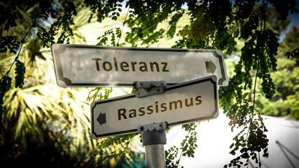 Schild 336 - Toleranz