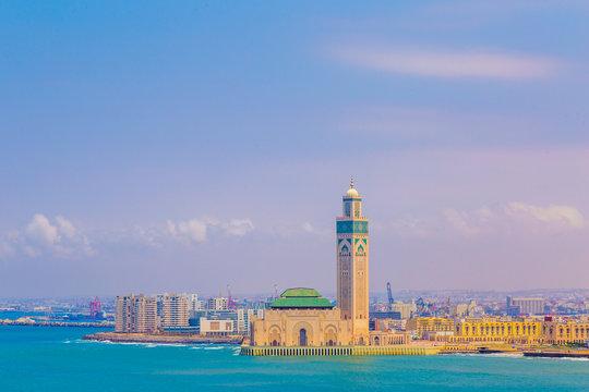 Mosquée Hassan II 2 Casablanca voyage mer