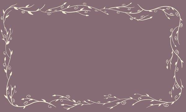 Branch Boarder on Purple