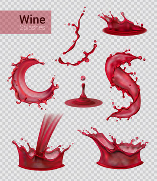 Red Wine Spray Collection