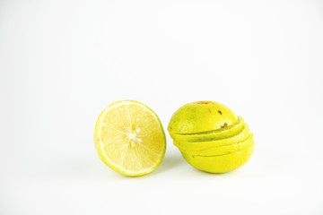 Lemon have vitamin  to help skin healthy life and popular to fruit juices