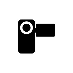 manual video camera icon. Element of simple icon. Premium quality graphic design icon. Signs and symbols collection icon for websites, web design, mobile app