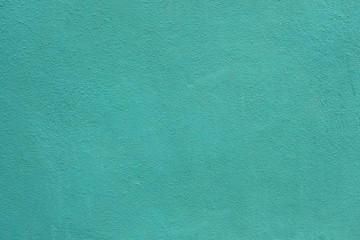 Background of green sea walls. blue wall background. Aquamarine background. Mint color