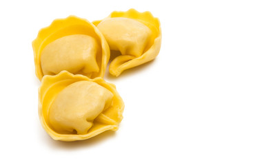 ravioli isolated