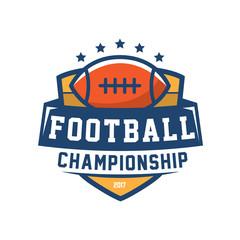 football championship badge