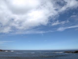 Maritime landscape in nature