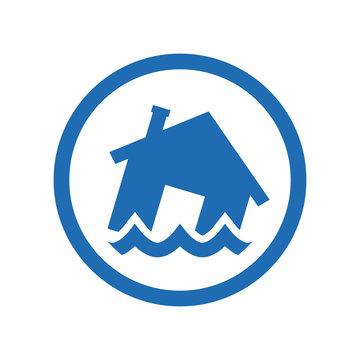 Flood vector icon