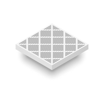 Plated Air Filter icon.