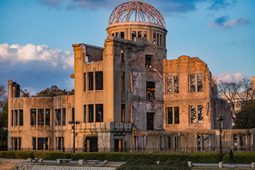 原爆ドーム ( Atomic bomb dome )