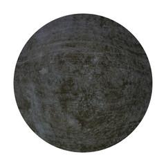 Dunle Kugel aus Stein