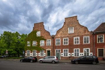 Dutch Quarter in Potsdam, Brandenburg, Germany