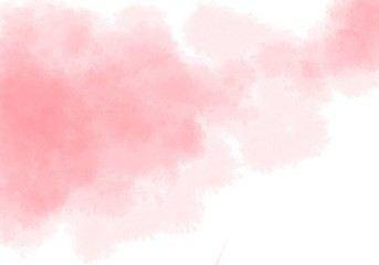 The pink watercolor backgrounds white. Used as a background in weddings and other tasks.