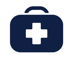 first aid kit glyph icon , designed for web and app