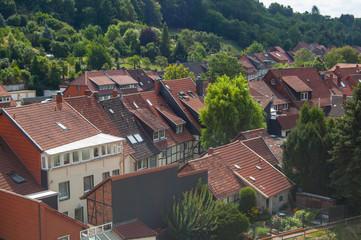 Blick über die Dächer von Bad Salzdetfurth