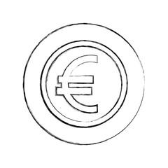 coin currency euro money economy european