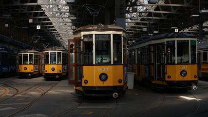 milano city atm tram deposit station