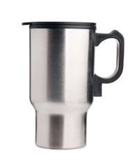 Stainless steel travel thermos  mug