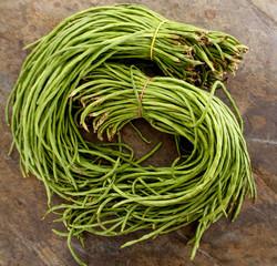 raw yard beans