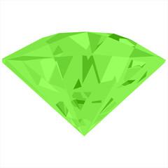 Green jewels vector