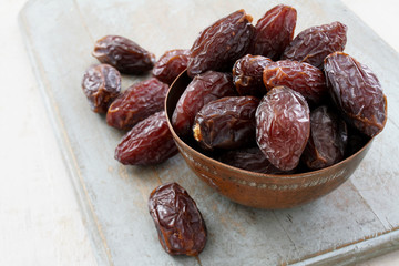 dried dates prepared
