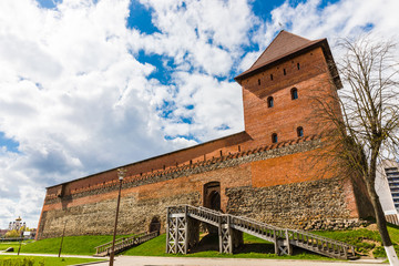 Lida Castle in Belarus, built in the 14th century on the instructions of Prince Gedimin. Entered the line of defense against the Crusaders